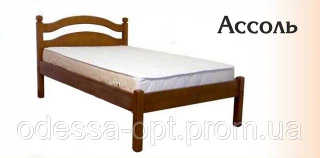 Кровать деревянная односпальная