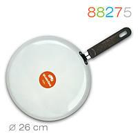 Блинная сковорода, белая, покрытие Whitford QuanTanium® – Ø 26 см 88275