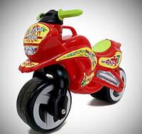 Каталка Мотоцикл с каской 11-007 беговел Kinder Way