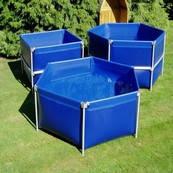 Бассейн для разведения рыбы - 3 м.куб
