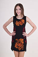 Женское платье с вышевкой, фото 1