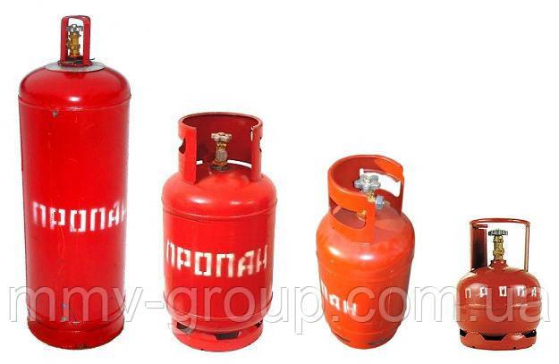 Купить газовые баллоны недорого в Украине