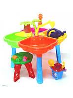 Песочный столик с набором 01-121 стульчик Kinder Way