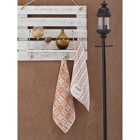 Набор полотенец Marie Сlaire для кухни 50*50 Tulipe бежевый