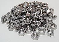 Шестигранная гайка М16 ГОСТ 5915-70, ГОСТ 5927-70, DIN 934 из нержавеющих сталей А2 и А4