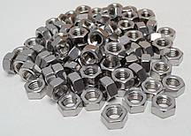 Шестигранна гайка М16 ГОСТ 5915-70 ГОСТ 5927-70, DIN 934 з нержавіючих сталей А2 і А4