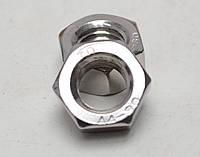 Шестигранная гайка М22 ГОСТ 5915-70, ГОСТ 5927-70, DIN 934 из нержавеющих сталей А2 и А4