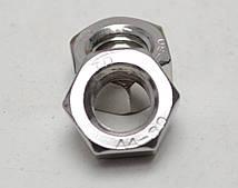 Шестигранна гайка М22 ГОСТ 5915-70 ГОСТ 5927-70, DIN 934 з нержавіючих сталей А2 і А4