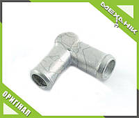 Колено соединительное 16 мм металл 16x16