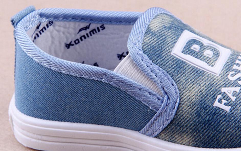Стильні джинсові мокасини для хлопчика   продажа e058ee7e5a908