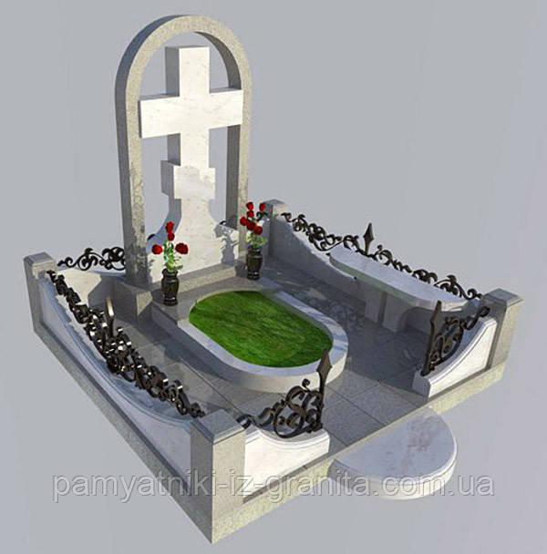 Православный крест на могилу № 29