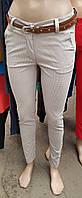 Стильные женские брюки в мелкий горошек