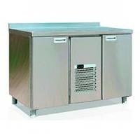 Стол холодильный 2GN/NT Carboma с бортом 0 +7 нерж.