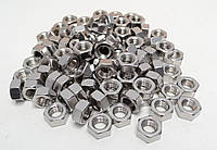 Шестигранная гайка М6 ГОСТ 5915-70, ГОСТ 5927-70, DIN 934 из нержавеющих сталей А2 и А4
