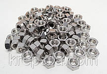 Шестигранна гайка М6 ГОСТ 5915-70 ГОСТ 5927-70, DIN 934 з нержавіючих сталей А2 і А4