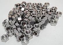 Шестигранна гайка М24 ГОСТ 5915-70 ГОСТ 5927-70, DIN 934 з нержавіючих сталей А2 і А4