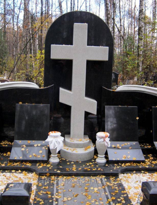 Православный крест на могилу № 37
