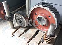 Комплект шестерен редуктора ОГМ 1,5. Шестерни гранулятора, фото 1