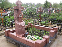 Православный крест на могилу № 42