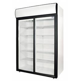 Холодильные и морозильные шкафы со стеклянной дверью