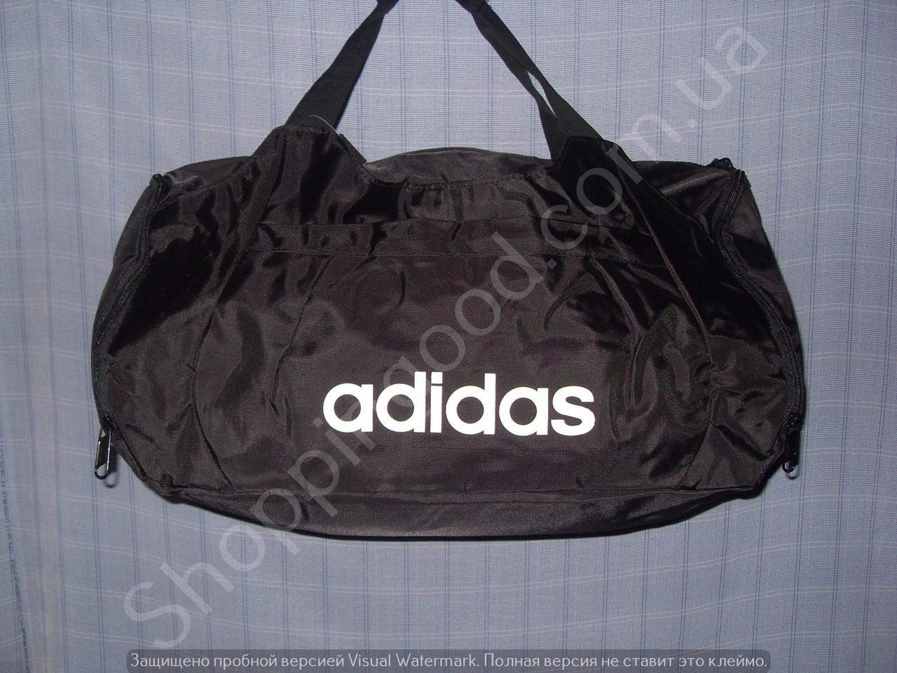 fc81f17211bb Багажная сумка Adidas 114112 малая (48 см х 27 см х 20 см) черная ...