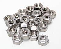 Шестигранная гайка М27 ГОСТ 5915-70, ГОСТ 5927-70, DIN 934 из нержавеющих сталей А2 и А4