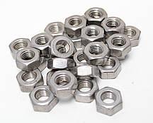 Шестигранна гайка М8 ГОСТ 5915-70 ГОСТ 5927-70, DIN 934 з нержавіючих сталей А2 і А4