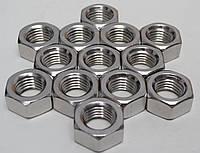 Шестигранная гайка М20 ГОСТ 5915-70, ГОСТ 5927-70, DIN 934 из нержавеющих сталей А2 и А4