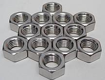 Шестигранна гайка М20 ГОСТ 5915-70 ГОСТ 5927-70, DIN 934 з нержавіючих сталей А2 і А4