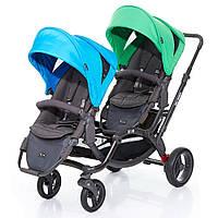 Прогулочная коляска для двойни ABC Design Zoom