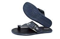 Шлепанцы мужские Adidas, Чоловічі шльопки  вьетнамки Адідас шкіра недорого.