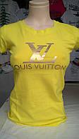 Женская футболка бренд Louis Vuitton