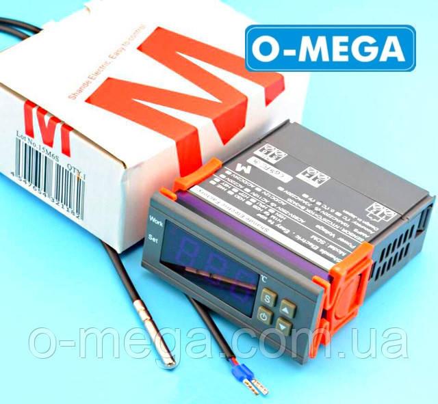 Терморегулятор цифровой высокоточный H1M с порогом включения в 0.1 градус и новым датчиком температуры