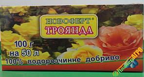 """Удобрение Новоферт """"Роза"""" 100 г, Украина"""