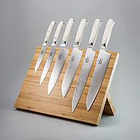 """Набор ножей из дамасской стали """"Ivory corian"""" 6ед."""