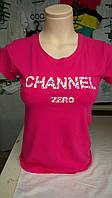 Женская футболка  Channel zero
