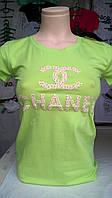 Женская футболка бренд Chanel