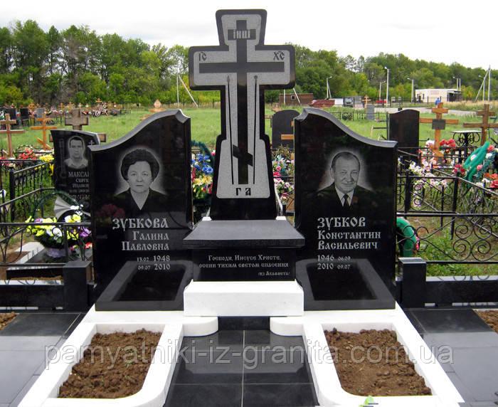 Православный крест на могилу № 55