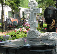 Православный крест на могилу № 65