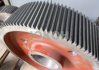 Большая (тихоходная) шестерня пресс гранулятора ОГМ 1,5, фото 1