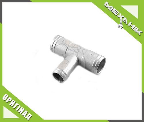 Тройник тосольный ГБО 19х16х19 алюминеевый