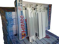 Радиатор биметаллический Mirado 500 высота с глубиной 96 СанТехРай, производитель Украна