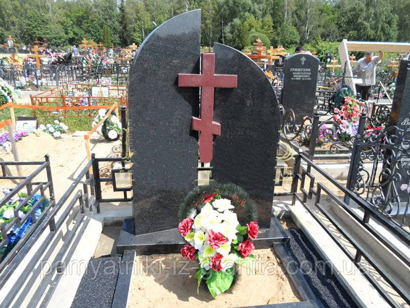 Православный крест на могилу № 70