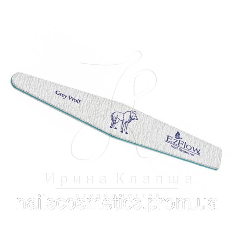 СЕРЫЙ ВОЛК Пилочка для искусственных ногтей Grey Wolf® Pro File, 150/150 грит - 28102