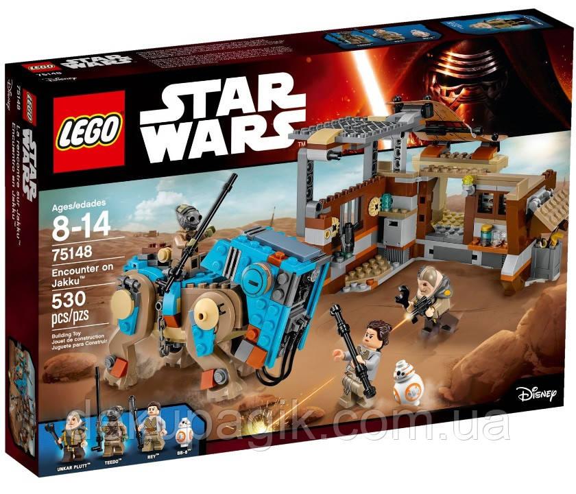 Lego Star Wars Схватка на планете Джакку 75148
