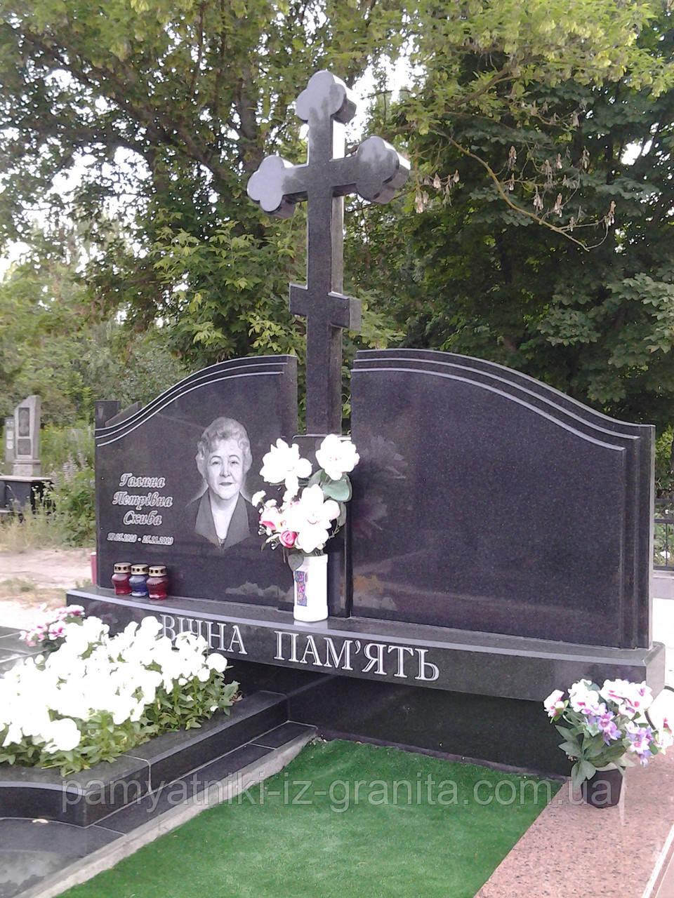 Православный крест на могилу № 76