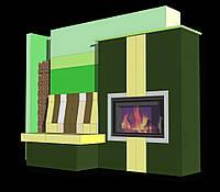Проектирование теплоаккумулирующих и  теплоемких каминов