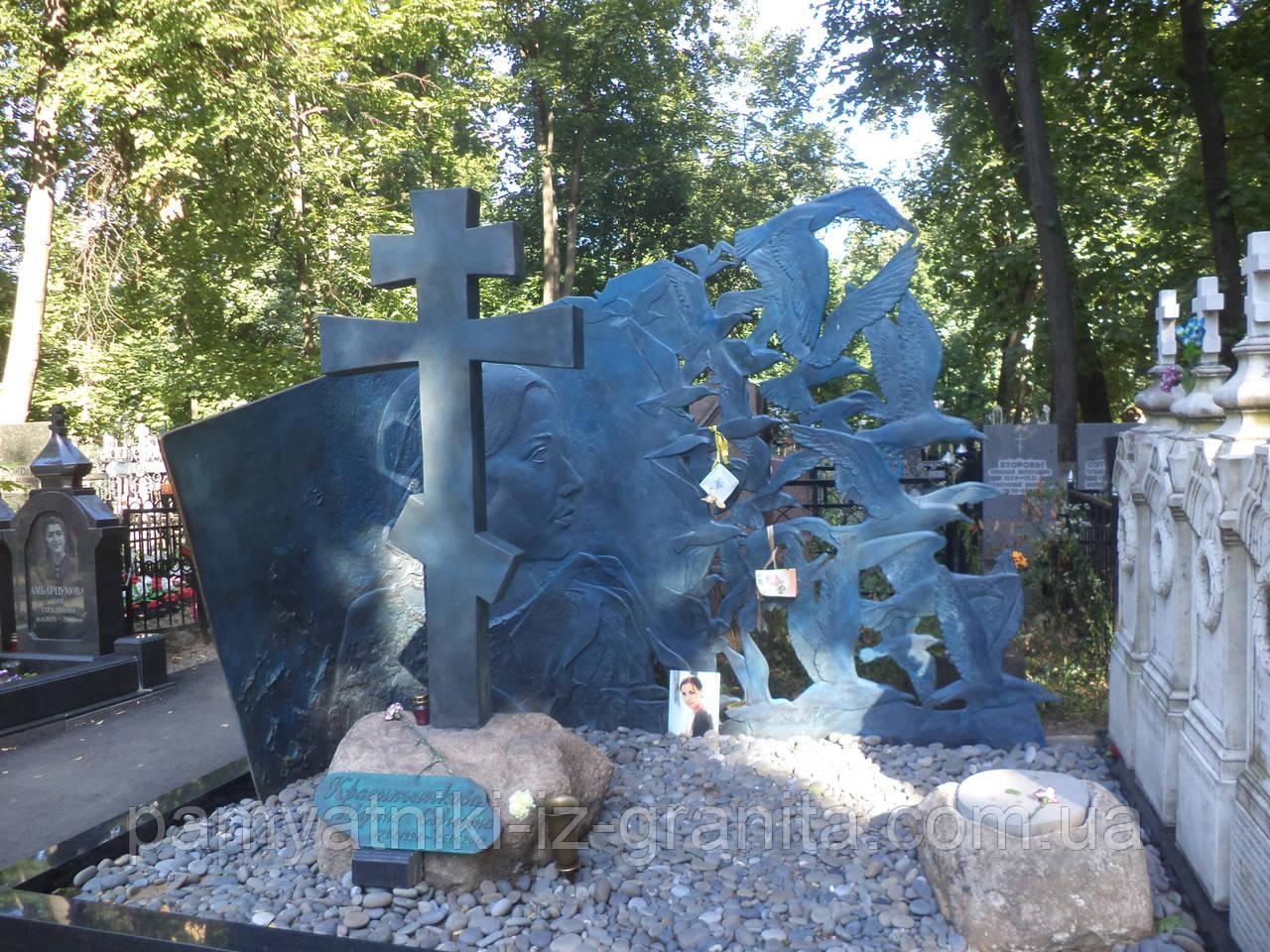 Православный крест на могилу № 83