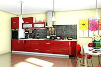 Кухня Гламур 2.0 м поелементно Гарант / Кухонный гарнитур Гламур Garant NV