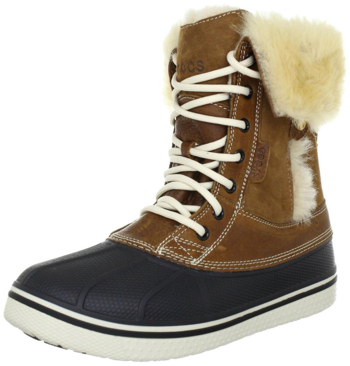 Crocs Women's AllCast Luxe Duck Boot